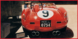 Red Number Nine Car